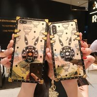 Wholesale designers transparent handbags for sale - Group buy Fashion Brands Full Cover Luxury Phone Case Iphone Pro Max Plus XS MAX XR Designer for Samsung Galaxy Note10 note9 S8 S9 S10 plus