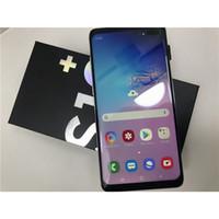 андроиды сотовые телефоны оптовых-Goophone S10 S10 + разблокированные смартфоны Dual SIM Android 8.1 восьмиъядерный процессор 1G RAM 8G Показано Fake128 ГБ 4G LTE 6,5-дюймовый GPS Мобильные телефоны