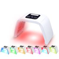 gesichtsausrüstung verkauf großhandel-HEIßER VERKAUF 7 Gesichtsmaske PDT LED der Farben-PDT beleuchten für Hauttherapie-Schönheitsmaschine für Gesichts-Haut-Verjüngungssalon-Schönheitsausrüstung