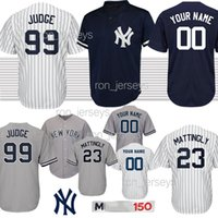1a1845a4855 Wholesale yankees baseball online - customized Aaron Judge New York jerseys  Yankees Torres Jeter GS Ruth