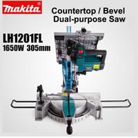 máquinas japonesas venda por atacado-Japão Makita LH1201FL tabela viu Oblique Alumínio Plastic Machine liga de aço de corte para madeira Chainsaw 12 polegadas 1650W