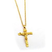 presentes mais vendidos venda por atacado-Declaração de jóias colar de pingentes de cruz pingente de bíblia de Jesus men top vender