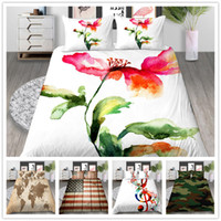 Wholesale bird comforter sets resale online - Classical Romantic Bedding set Duvet Cover European Style Comforter with Birds Flowers with Sheet Pillow of Home Bedclothes
