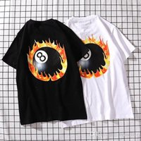Wholesale quality womens size clothing resale online - 2019 New Style Men T Shirts Womens Tops Short Sleeved cotton tshirt tee shirt men designer clothing Size in M XL with high quality