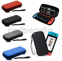 Wholesale protective travel cases resale online - Gamepad Box For Nintend Switch Hard Box Bag Travel Carrying Hard Cover Case For Nintendo Switch NS NX Protective Bag Pouch