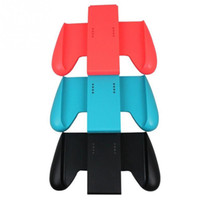 Wholesale red handle grips for sale - Group buy 1Pcs Gaming Grip Handle Controller Left Right Joystick For Nintendo Switch Joy Con NS Holder Blue Black Red Game Accessories