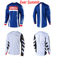 Wholesale downhill jerseys resale online - Cycling clothing jersey The TLD downhill suits and quick dry mountain bike fleece series cycling suits and racing Cross country shirt