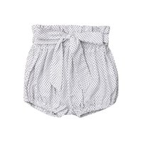 Wholesale trendy baby girl clothing for sale - Group buy Trendy Casual Newborn Toddler Baby Boys Girls Kids clothes bow High waist Shorts Geometry cotton lovely Panties one pieces