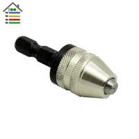 Portabrocas 13mm 3//8-24UNF Adaptador de Portabrocas sin llave Semimet/álico Portabrocas de Impacto