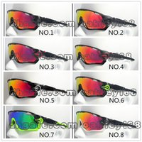 Wholesale jawbreaker cycling sunglasses resale online - New Outdoor Sport Jawbreaker Cycling Sunglasses Brand Mountain Bike Goggles Cycling Eyewear Bicycle Sunglasses Colors