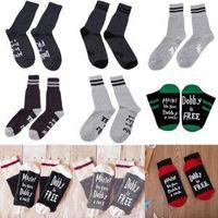 Wholesale stockings online - 2pcs styles Letter socks women men casul fashion socks women men casual fashion socks sport Stocking FFA1483