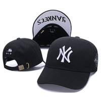 beyaz şapkalı şapka toptan satış-2019 Erkek Ve Kadın Snapbacks Için Şapka Beyzbol Şapka Erkekler Ve NY Doruğa Kap Nakış Yankees Şapkalar Beyaz Sonbahar Ve Kış Gelgit Marka