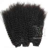 Wholesale wrap around ponytail extension human hair resale online - VMAE European Natural Color Horsetail Tight Hole Clip In g Ponytail Remy Human Hair Extensions Double Drawn Wrap around