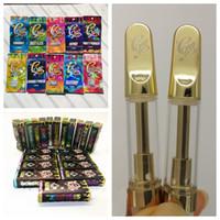 Wholesale boxing pens for sale - Group buy CaliPlug Carts Hologram vape cartridge packaging ml ml Ceramic Cartridge holographic Retail Bag Box Cali plug Gold Empty Vape Pens
