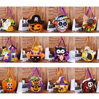 Wholesale candy gifts diy for sale - Group buy children s DIY Halloween Handbag candy bag kindergarten gift bag spoofs Halloween Candy Collection BagStorage bags Gift WrapT2I5343