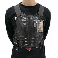 ingrosso protettore posteriore del corpo-Gilet da uomo Gilet Body Guard Gilet Ciclismo Sking Equitazione Skateboarding Torace Back Spine Protector Moto Gear Motocross Body Armor