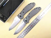 couteaux de chasse achat en gros de-Système BM 550/551 Axe Couteau pliant G10 poignée 20cv Lame En Plein Air Survie Camping Chasse Poche EDC Couteau