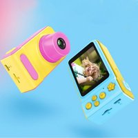 Wholesale 2 inch HD screen Kid Camera Toys Mini Lovely Kids Anti shake Digital Camera Max Memory Expansion GB for Child Gift