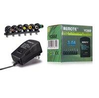carregador universal de adaptador de corrente alternada venda por atacado-Universal 3.0A 30 W EUA AC DC Charger Adapter Converter 6 Plugues 3, 4.5, 6, 7.5, 9 12 V 30 W Carregador De Energia