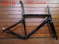 bicicleta taiwan al por mayor-2020 nuevo marco de bicicleta de carretera de fibra de carbono de color marco de bicicleta de bicicleta marco de bicicleta de carreras freno de disco V-brake Taiwán hizo FM06 XDB disponible