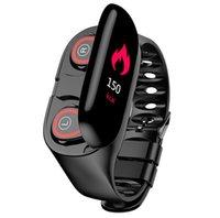 ingrosso lunghe cuffie-Più nuovo orologio intelligente Ai con Bluetooth Cardiofrequenzimetro Smart Wristband Braccialetto fitness standby a lungo termine J190522 Auricolari TWS