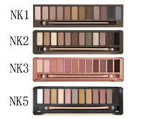 Wholesale naked makeup 12 resale online - Naked Eyeshadow Pallete color Makeup Set Matte Eyeshadow Nude Palette Natural Naked Eyes Colour Palette Make Up Palette
