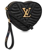 kalp şeklinde çanta toptan satış-Yüksek kalite Kalp şekli mini kadınlar Debriyaj çanta tote marka tasarımcısı bayan çanta omuz çantası bayan kız crossbody messenger Çanta hediyeler