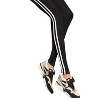 плюс размер коричневые леггинсы оптовых-2018 Женщины Леди Activewear Черные Леггинсы Весна Лето светло-серый Брюки Осень Середине Талии Леггинсы Оригинальный Заказ