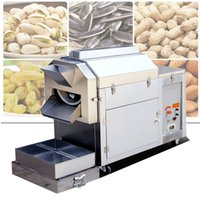 Wholesale cashew nuts for sale - Group buy Large commercial nut roasting machine for peanuts chestnuts sunflower seeds cashew nuts dried nuts making roasting machine