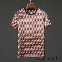 ingrosso pantaloni di marca per gli uomini-Maglietta allentata della maglietta del progettista di modo della manica corta degli uomini caldi di vendita 19SS Maglietta allentata all'ingrosso Maglietta di estate di lusso