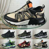 zapatillas estilo nuevo al por mayor-2019 Nuevo estilo NIKE AIR MAX 270 BOWFIN Zapatos para correr para hombre 270 bowfin Deporte atlético Zapatillas Hombre Zapatos de diseñador para caminar Zapatillas Eur 40-45