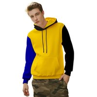 Wholesale clothes young men for sale - 2019 Autumn Fashion Hip Hop Streetwear Men Hoodies Brand Clothing Hooded Aweatshirts For Young Man Casual Pullover Dropshippping