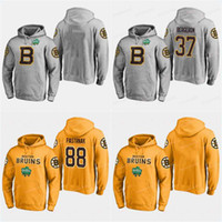 Custom Mens 2019 Winter Classic Jerseys 37 PatriceBergeron 88 David  Pastrnak 63 Brad Marchand Boston Bruins Hockey Hoodies Sweatshirts cfcc0658a