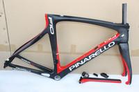 Wholesale carbon fibre road racing bicycles for sale - Group buy 48 colors black lava T1100 F10 carbon road frame K racing carbon bicycle frame road bike carbon frameset