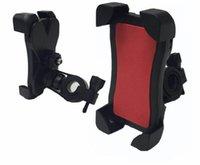 держатели для мобильных телефонов для велосипедов оптовых-Универсальный мотоцикл велосипед руль Держатель мобильного телефона для 3.5-6 дюймов мобильный телефон