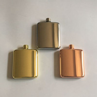 stainless steel copper hip flask 6oz outdoor pocket flagon Irish jameson hip gift flask for whiskey