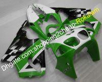 Wholesale kawasaki zx7r green fairings for sale - Group buy ZX R Green Black White Fairing Fit For Kawasaki ZX R ZX7R Motorcycle Complete Fairings Set