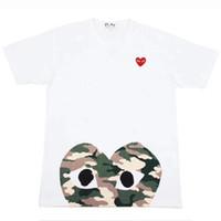 venda de marcas de aparência venda por atacado-Mens marca tshirts mulheres verão camiseta venda quente de manga curta t-shirt do coração impressão engraçado t-shirt