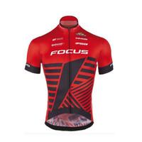 jersey de ciclismo rosa para hombre al por mayor-2019 Ciclismo Jersey Pro Team Racing Bicicleta Ciclismo Ropa Manga corta MTB Bicicleta Jersey Camisa Ropa Ciclismo