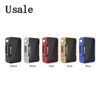 Wholesale large mods for sale - Dovpo Nickel W TC Box MOD Thread TC Mod with Inch OLED Display Large Fire Button Original