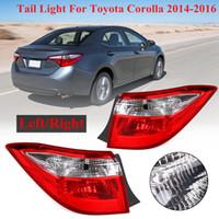ersatz-rückleuchten großhandel-1 para auto rücklicht bremse rücklicht lampe ohne lampe für toyota corolla 2014 2015 2016 gehäuse shell