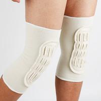 Wholesale leg protector knee for sale - Group buy Knee Protector Women Men Elbow Knee Pads Brace Protector Warm Cashmere Wool Leg Protectors Thigh High Socks Pad Legging