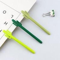 çocuk modelleri ücretsiz toptan satış-Kaktüs modelleme jel kalem 0.5mm siyah çocuk Yazma Kalem Ofis Eexamination Sınırlı Ofis Malzeme Okul Malzemeleri toptan Ücretsiz E-PACKE