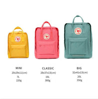 Wholesale brand l bags resale online - 2019 sweden Brand teenage backpacks for girl Waterproof backpack Travel Bag Women Large Capacity brand Bags