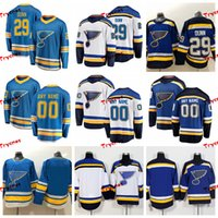 ingrosso jersey hockey blu chiaro-2019 St. Louis Blues Maglie cucite Vince Dunn Personalizza maglie blu chiaro alternative # 29 Maglie hockey Vince Dunn S-XXXL
