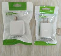 cabos carregador usb universal venda por atacado-Plano trançado cabo saco de plástico Zipper Poly Bag pacote de varejo para Cabo USB Celular Caso carregador de parede