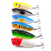 Wholesale fishing tackle plastics for sale - Group buy 7cm g Plastic Hard Popper Fishing Lures Artificial Plastic Fishing Tackle Hard Bait Fishing Bait LJJZ562