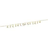 v gold brief großhandel-925 Sterlingsilber-Liebhaberhalskette glückliches Symboltropfencharme-Regenbogen L O V E-Buchstabe bezaubert personalisiertes Geschenk des Valentinsgrußes