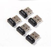 chip inalámbrico wifi al por mayor-150Mbps Mini virutas RTL8188 adaptador USB WiFi de la red inalámbrica tarjeta WiFi Dongle 802.11n B / / g DHL