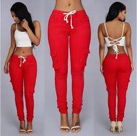 kot pantolon pantolon toptan satış-Marka tasarımcısı Kadınlar kız bayanlar Seksi Giysiler Tayt Pantolon Pantolon Moda Sıska Kalem Denim pantolon Bayan Tayt Kot